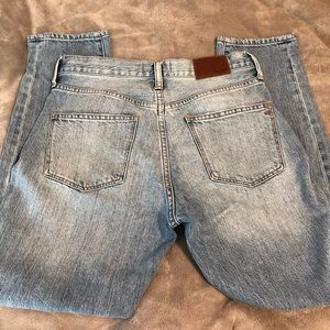 Madewell soze 28 high rise boyfriend jeans